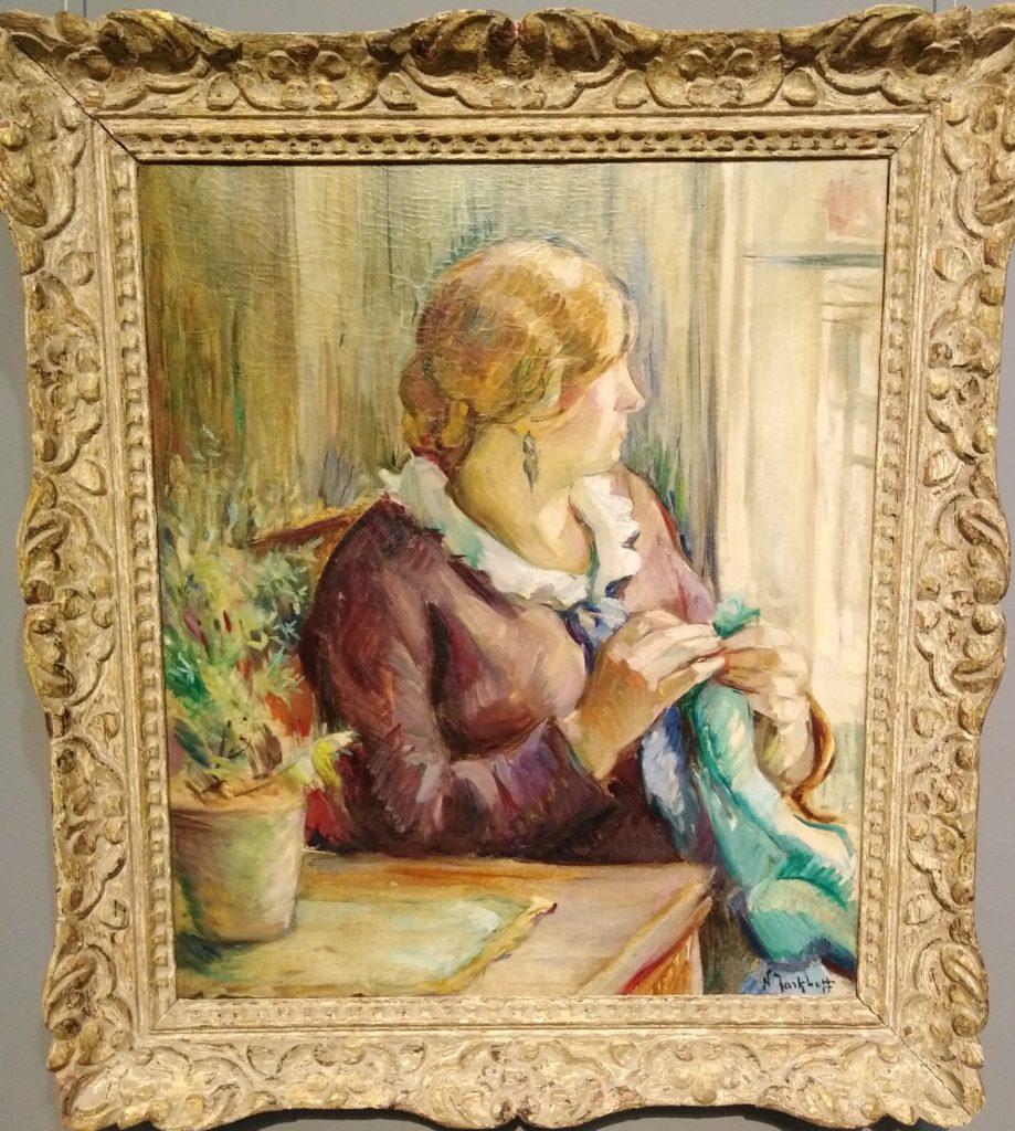 Вышивка нитками. История уральской вышивки. Картина