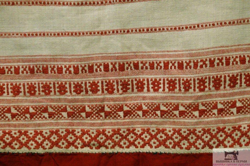Вышивка нитками. История уральской вышивки. Коми-пермяцкая вышивка