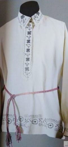 Вышивка нитками. История уральской вышивки.