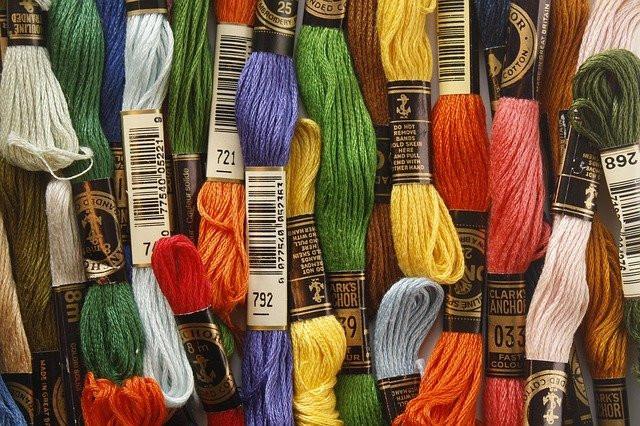Как подготовить нитки для вышивки